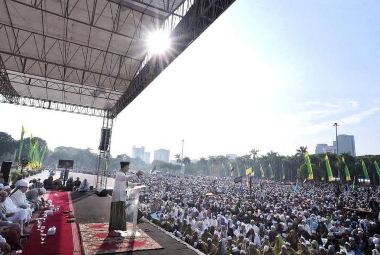 Dihadapan Massa 212, Anies Beberkan Keberhasilannya Pimpin Jakarta
