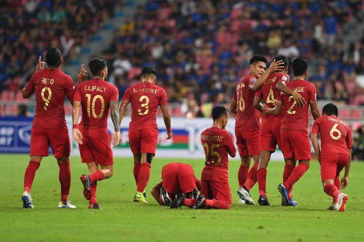 Thailand vs Filipina Imbang, Timnas Indonesia Gugur