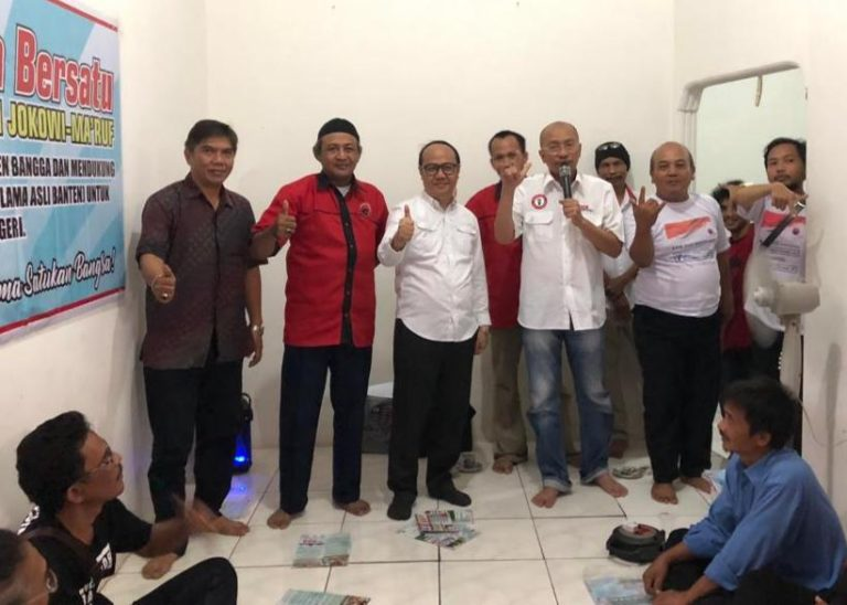 Gandeng Lembaga Survei Konsepindo, Pospera Banten optimistis menangkan Jokowi-Ma'ruf