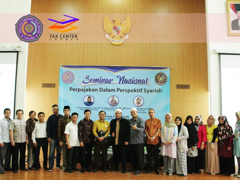 FEB-UHAMKA Gelar Seminar Nasional Perpajakan dalam Perspektif Syariah