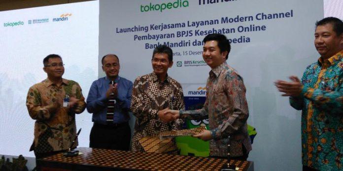 Mandiri Hadirkan Fitur TopUp E-Money di Platform Tokopedia