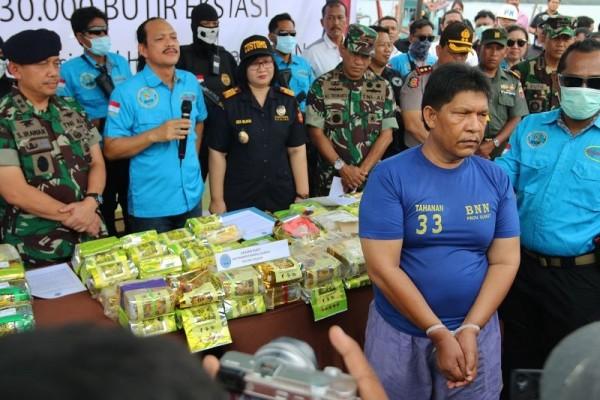 BNN Musnahkan Ratusan Kilogram Sabu dan Ganja