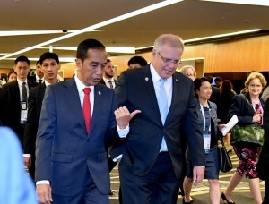 Bertemu PM Australia, Jokowi Bahas Isu Terorisme hingga Palestina