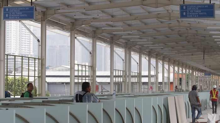 Sarana Jaya sesumbar Skybridge Rampung sesuai Jadwal