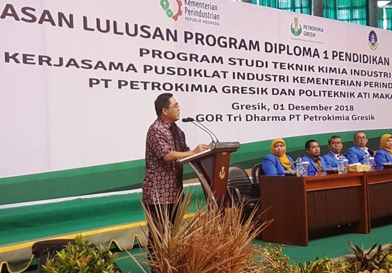 Kemenperin Pasok SDM Siap Kerja untuk Industri Petrokimia