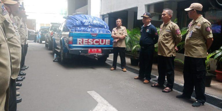 Dinsos DKI Salurkan Bantuan untuk Korban Tsunami Selat Sunda