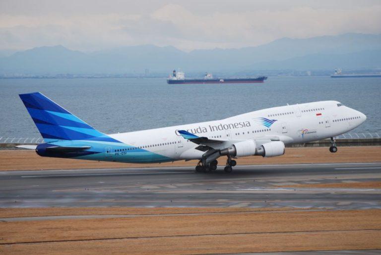 Garuda Indonesia Setop Sementara Penerbangan Menuju Tiongkok