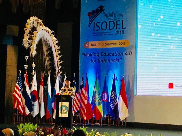 Kemendikbud Gelar Simposium Internasional Pendidikan 4.0