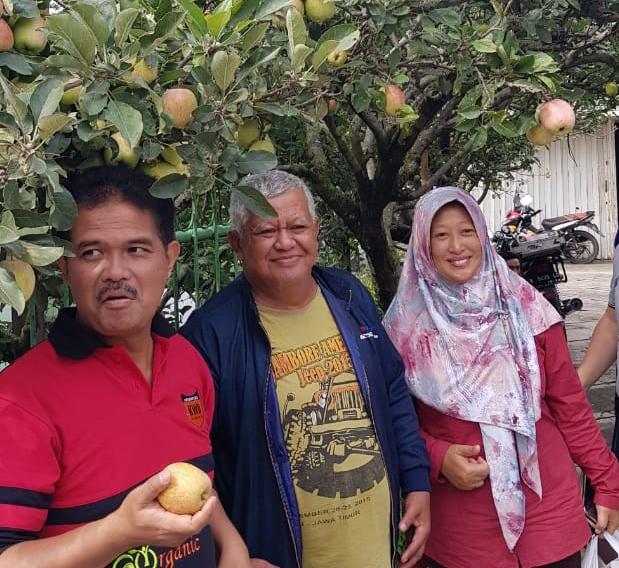 Dirjen Hortikuktura Tinjau Wisata Agro Apel di Kota Batu
