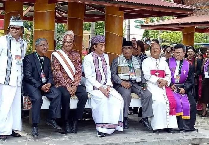 Istana Bantah Jokowi Resmikan Patung Yesus Kristus