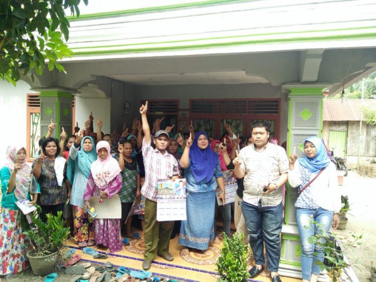 Ibu-Ibu Pengajian di Simalungun nyatakan Dukungan pada Hinca Pandjaitan