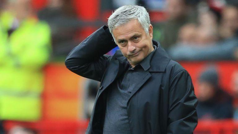 Manchester United Depak Jose Mourinho