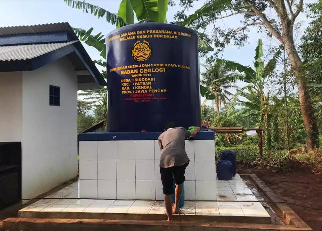 Lagi, Kementerian ESDM Resmikan Sumur Bor di Kendal