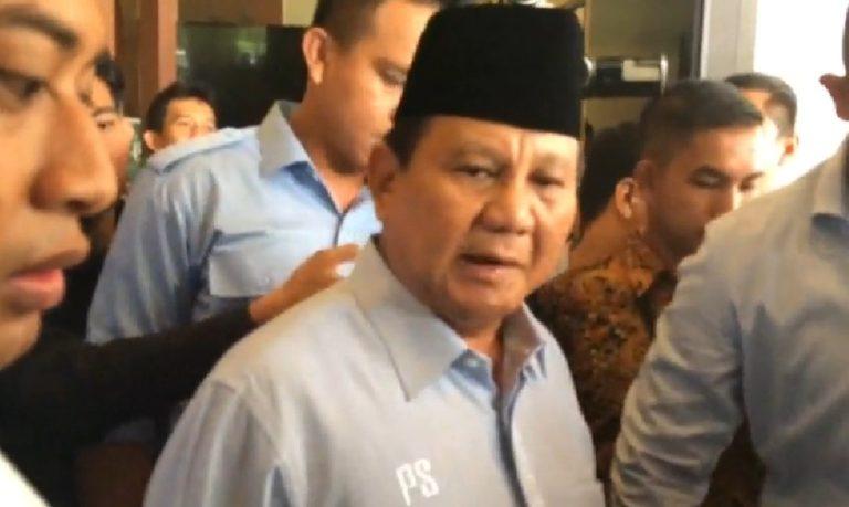 Setuju Ibukota Dipindah, Ini Empat Poin Catatan Prabowo