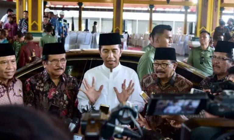 Jokowi Bicara soal Tudingan Kriminalisasi Ulama