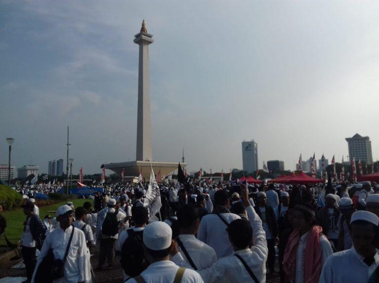Aksi Reuni 212, Sepi di Media Nasional Ramai di Media Luar