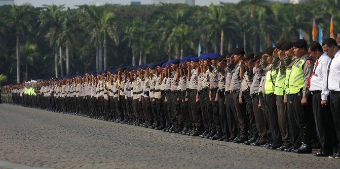 Polisi Terjunkan 7.000 Personel Amankan Laga Persija vs Mitra Kukar