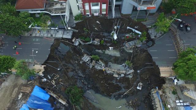 Jalan Ambles di Gubeng Surabaya jadi Sorotan Media Asing