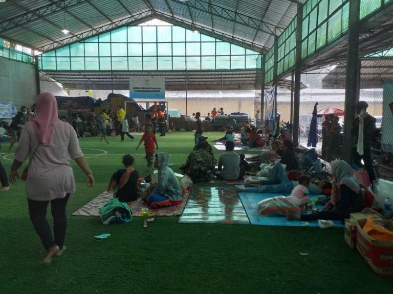 Jumlah Pengungsi Korban Tsunami Mulai Berkurang