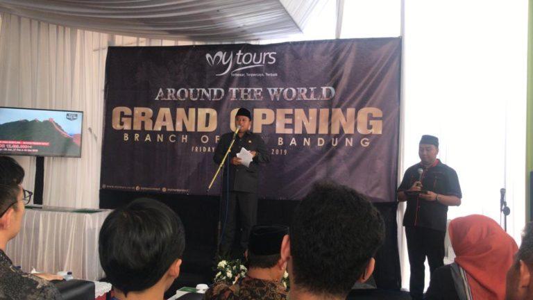 Genjot Layanan Paripurna, My Tours Buka Kantor Cabang Baru di Bandung