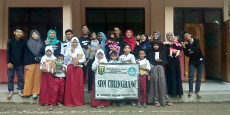Ramai-ramai jadi Relawan Sukabumi Mengajar