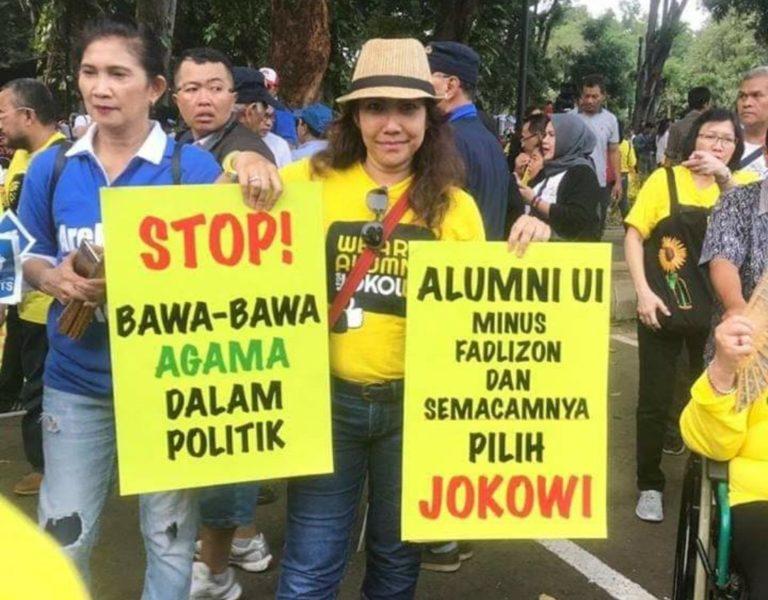 Heboh Dukungan Alumni UI ke Jokowi, Ini Kata Fadli Zon