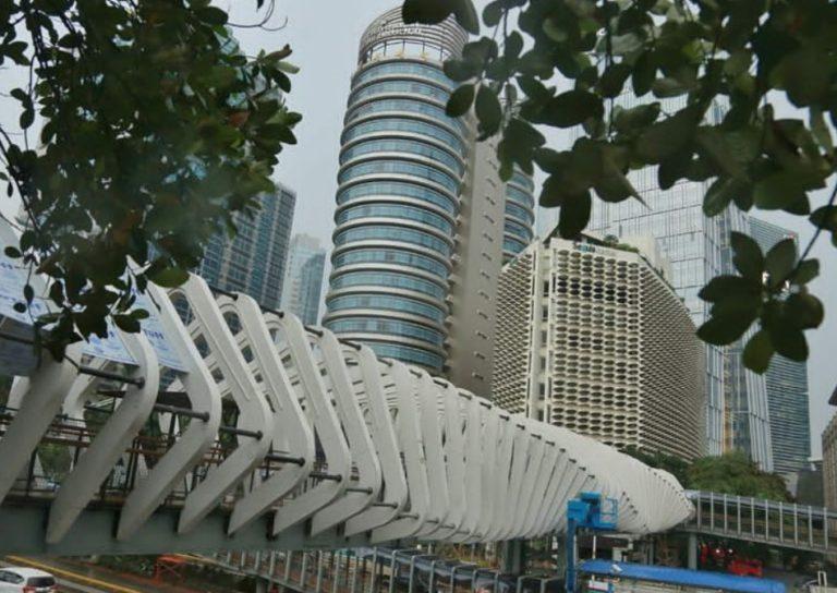 Menengok JPO Unik Gelora Bung Karno, Progresnya Kini 80%