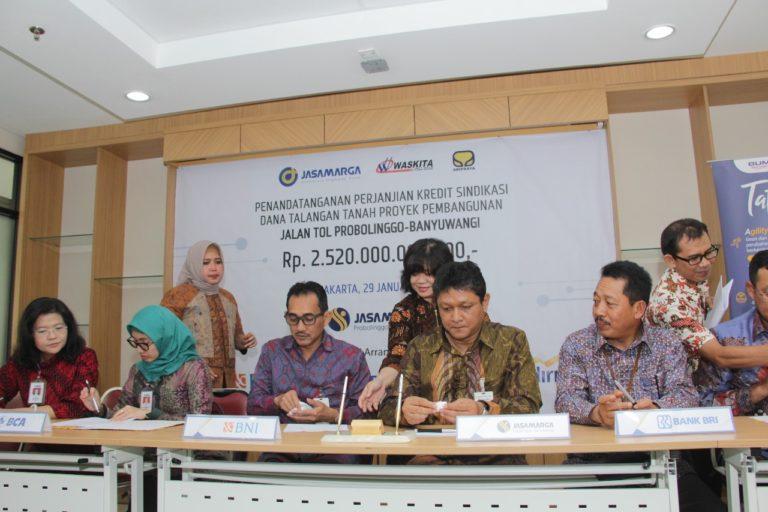 Raih Pendanaan Lahan Rp2,52 Triliun, Jasa Marga Siap Percepat Pembangunan Jalan Tol Probolinggo-Banyuwangi