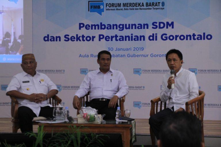 Gubernur Gorontalo: Kemiskinan Turun Berkat Program Jagung Kementan