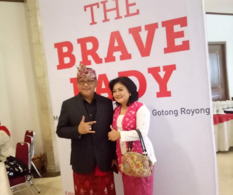 """Megawati Ultah ke-72, Kabinet Gotong Royong Luncurkan Buku """"The Brave Lady"""""""