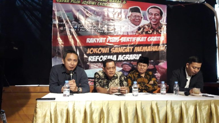 Pengamat: Program Sertifikat Tanah Jokowi Bukan Hoax!