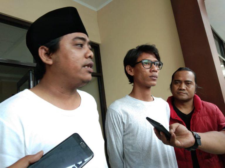 Muanas Alaidid dampingi Mahasiswa Karawang laporkan Sandiaga ke Polisi