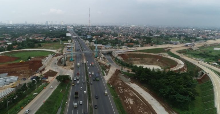Jasa Marga Lanjutkan Pekerjaan Teknis Jembatan Kunciran Junction Arah Bandara Soetta
