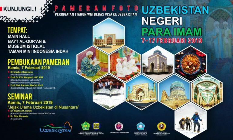 Kemenag RI dan Kemenpar Uzbekistan Gelar Pameran Foto Uzbekistan Negeri Para Imam