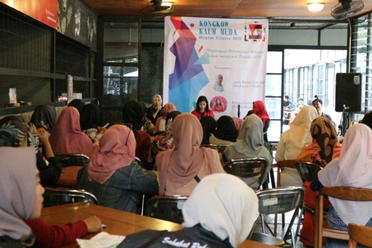 Sahabat Rakyat Indonesia Diskusi bersama Perempuan Millenial Bandung