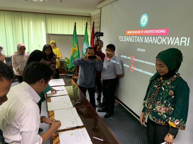 Kementan Tingkatkan Kapasitas Daya Saing Mahasiswa Milenial Polbangtan Manokwari