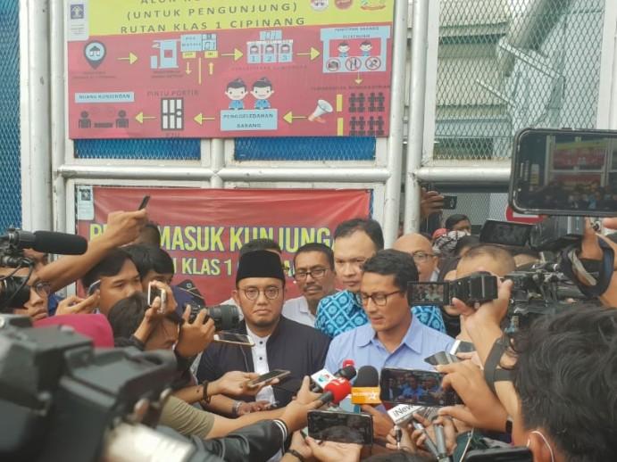 Soroti Kasus Ahmad Dhani, Sandi Berjanji akan Revisi UU ITE