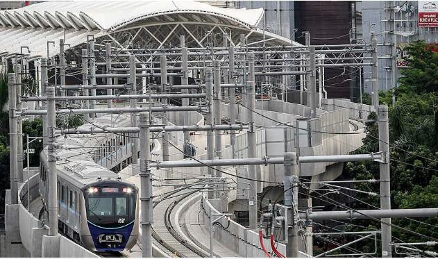 Akibat Padamnya Listrik, MRT Berhasil Evakuasi Para Penumpangnya