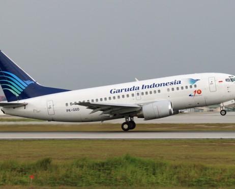 Garuda Indonesia Pastikan Rute Penerbangan Eropa tidak Lewati Wilayah Iran