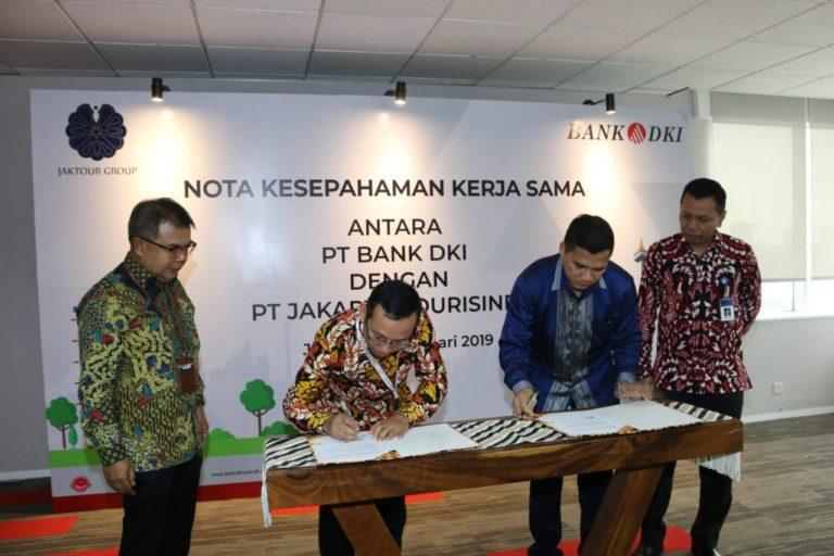 PT Jakarta Tourisindo Manfaatkan Layanan Perbankan Bank DKI