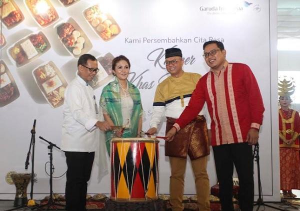 "Garuda Indonesia Luncurkan 21 Menu ""In-flight Meals"" Khas Nusantara"