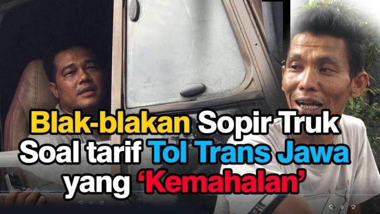Tarif Tol Trans Jawa kemahalan? ini Kata Sopir Truk