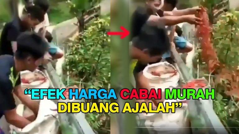 Heboh Aksi Buang Cabai di Garut, Pelaku Mengaku Khilaf dan Spontanitas