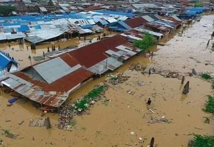 Banjir Bandang terjang Sentani Jayapura, 42 Orang Meninggal