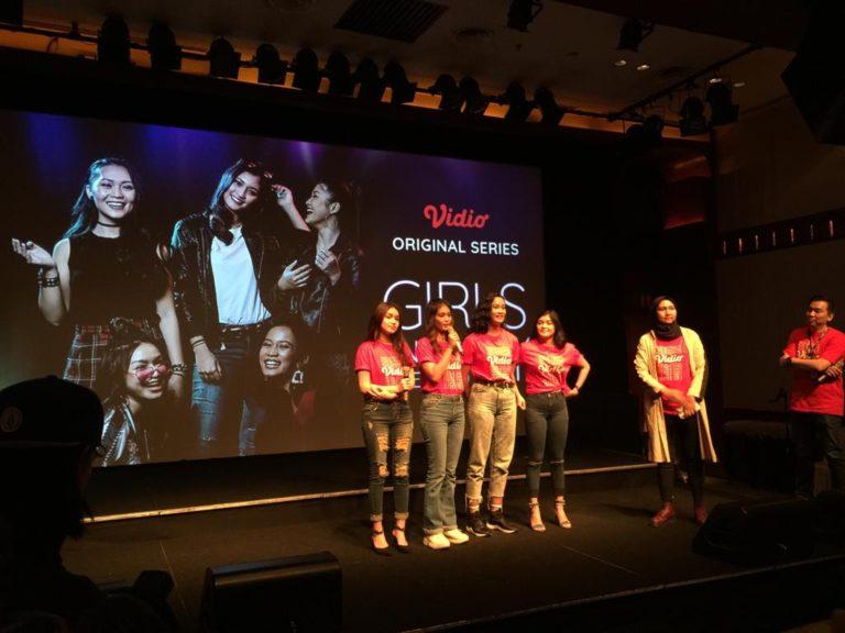 Vidio.com luncurkan Web Series Perdana 'Girls In The City'