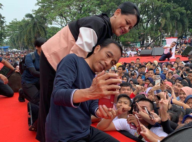 Maphilinda: Peduli Milenial, Jokowi Pemimpin Semua Kalangan