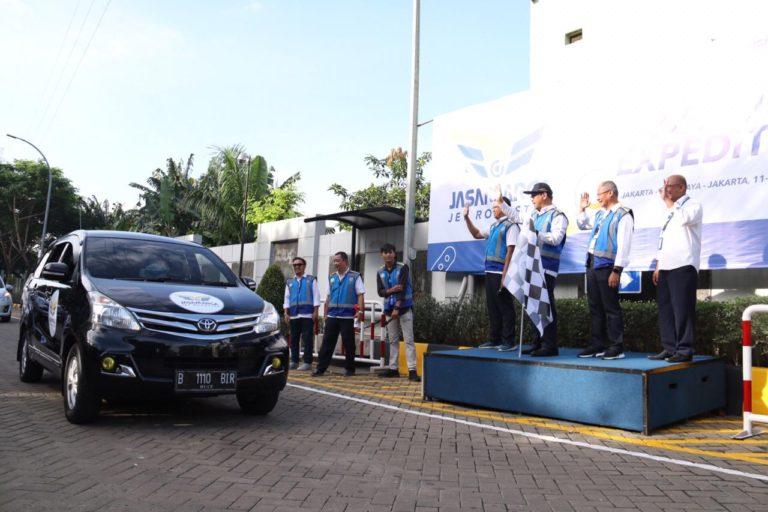 Jasa Marga Lepas 100 Peserta Jet Roadster Jelajahi Tol Trans Jawa