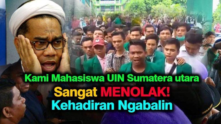 Mahasiswa UIN Sumatera Utara Usir Ali Mochtar Ngabalin dari Kampus