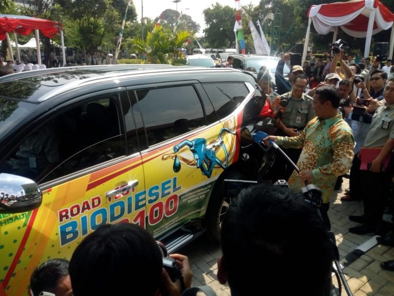 Soft Launching Bio Diesel B 100, Menteri Amran: Ini sejarah dunia