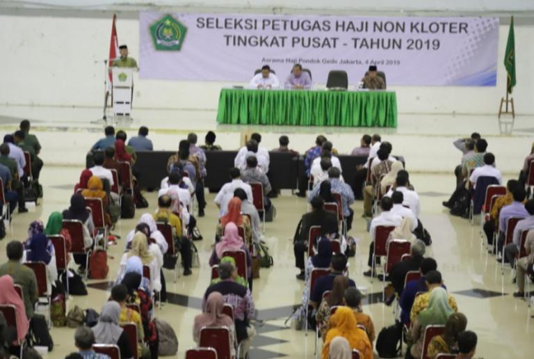 Pendaftar Petugas Haji Capai 7 Ribu Orang